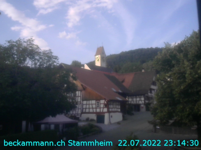 Unterstammheim, Blickrichtung Oberdorf